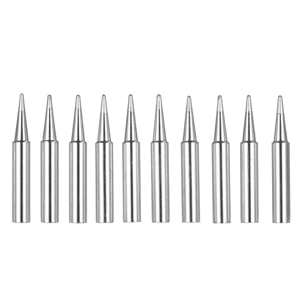 10pcs 900M-T-B Lead-free Solder Iron Tips for Hakko Soldering Rework Station