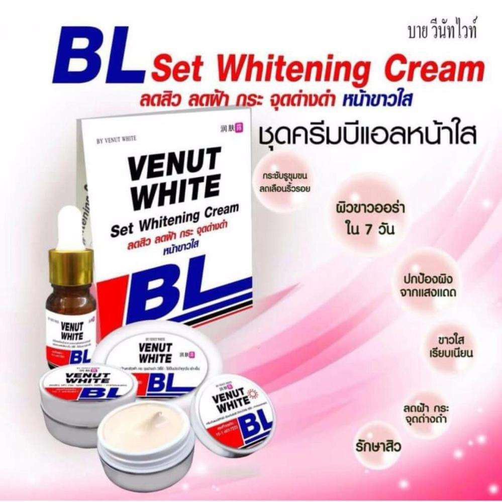 BL Venut Whitening Serum ,Soap day cream and night cream set -70g