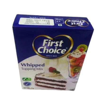 Whipped Cream Powder Topping Mix 72g Buy Online At Best Prices In Bangladesh Daraz Com Bd