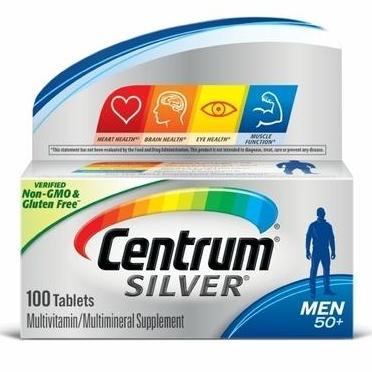 Centrum Silver Multivitamin and Multimineral Men 50+ _ 100Tablet