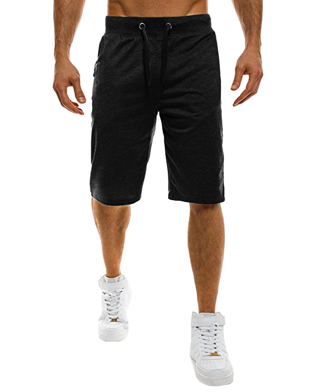 2ad2fa21 Product details of INCERUN US STOCK Men's Jogger Sport Shorts Beach Dance  Summer Jogging Gym Sweat Pants Black