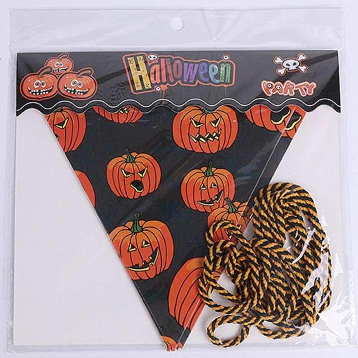 UR Halloween triangle flag