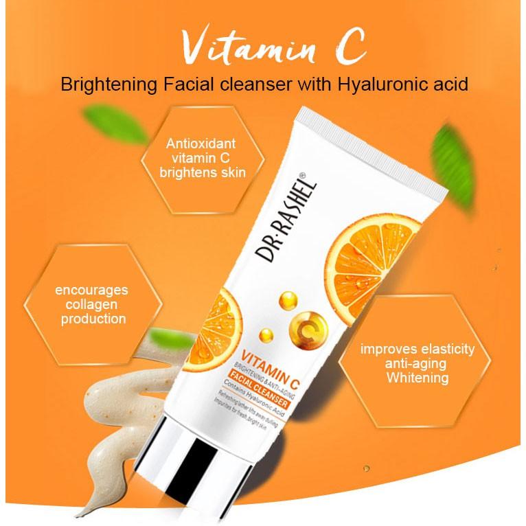 Dr Rashel Vitamin C Facial Cleanser 50ml: Buy Online at Best Prices in  Bangladesh | Daraz.com.bd