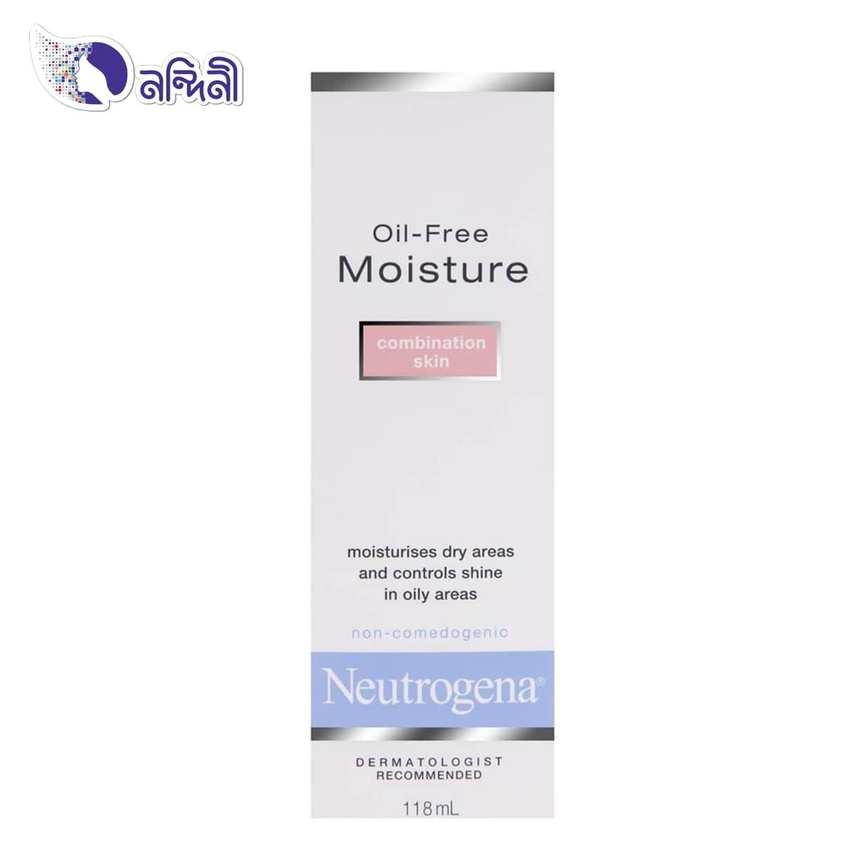 Oil Free Face Moisturizer Combination Skin 118ml