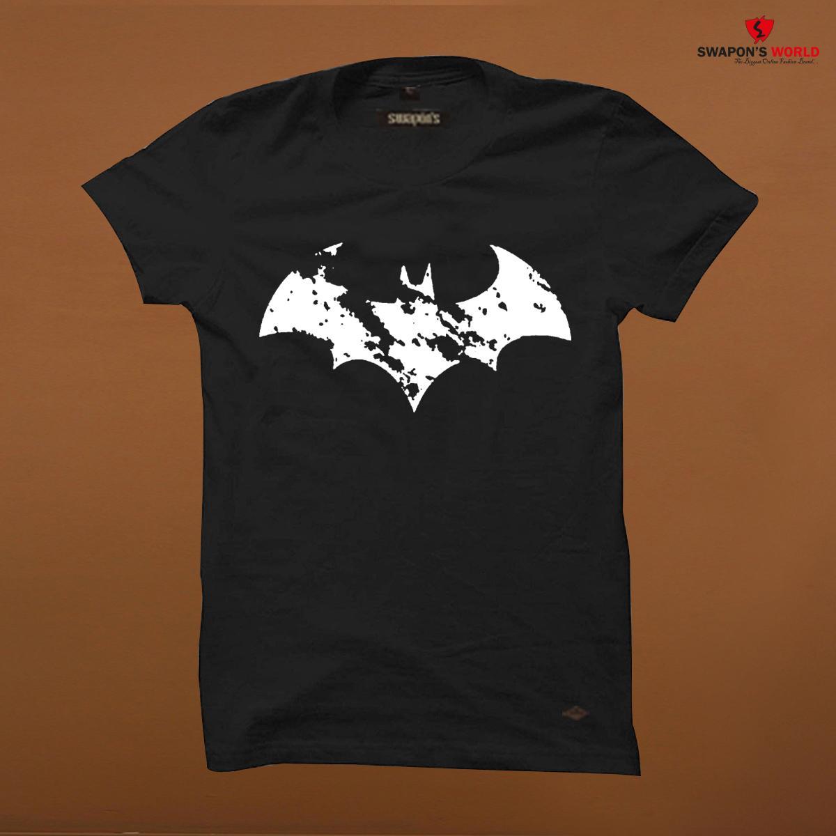 new arrival 3c86a 89dfb Black Cotton Half Sleeve T-Shirt for Men Code-SW3795T