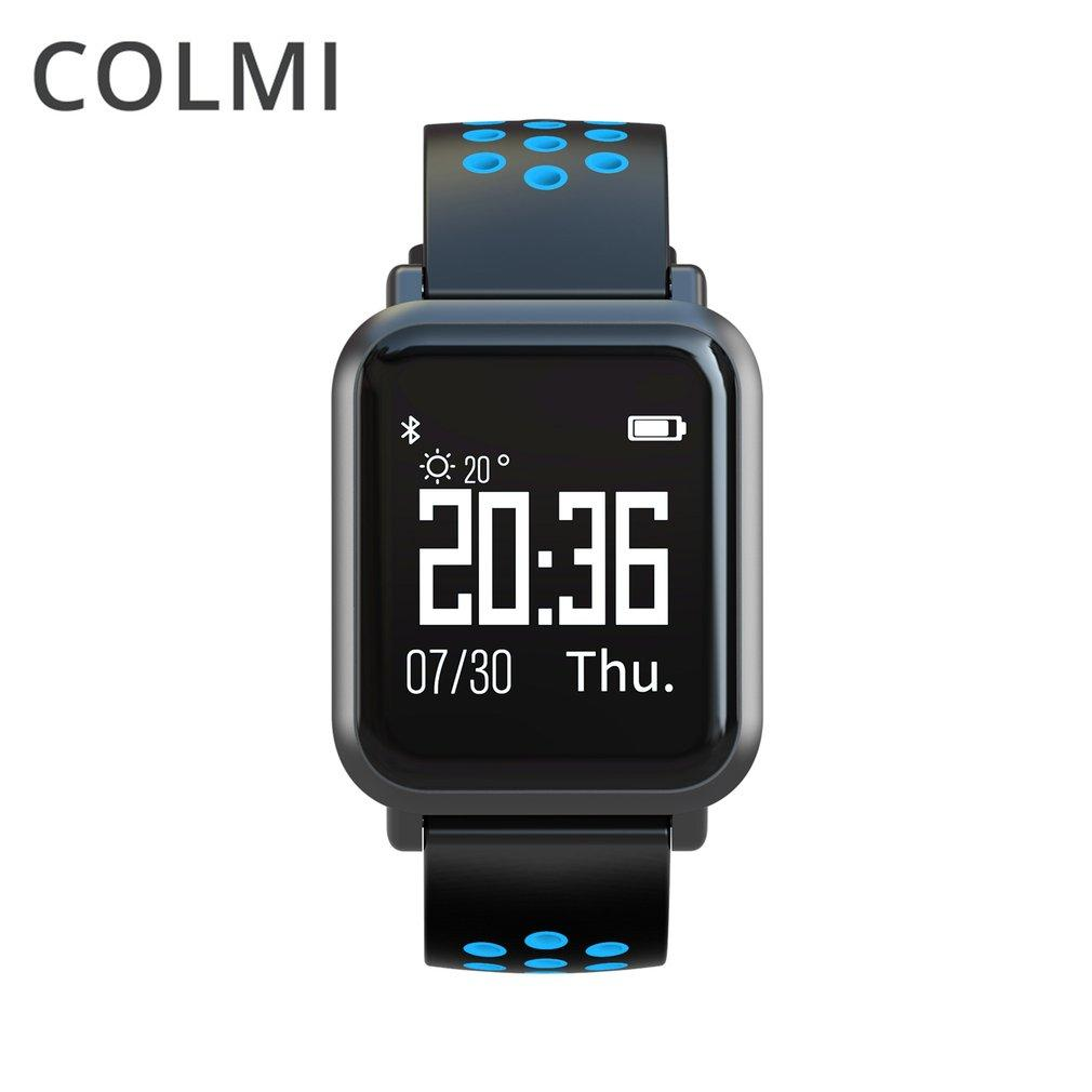 COLMI SN60 Waterproof Real-time Heart Rate Monitor Blood Pressure Smartwatch