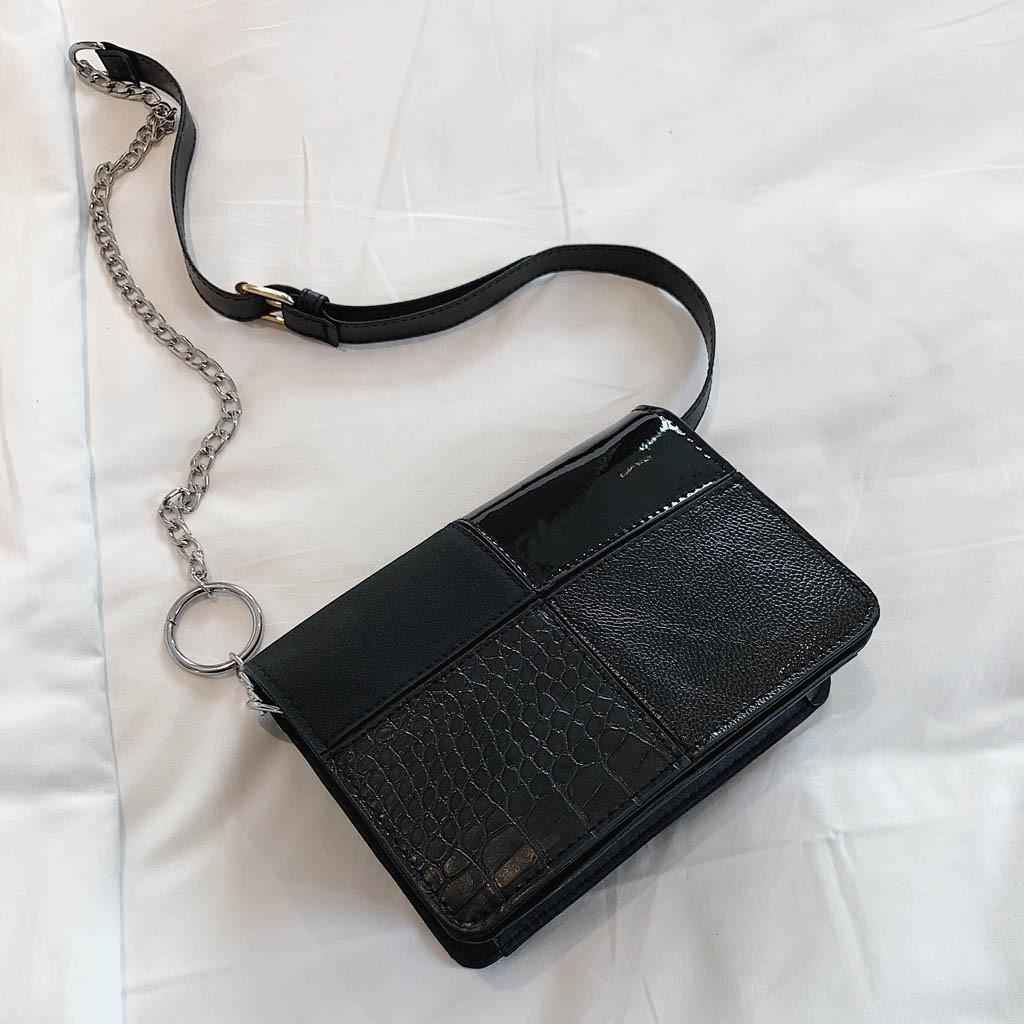 c62095ca0b2a Women's Fashion Retro Versatile Chain Shoulder Bag Messenger Bag Flip Bag