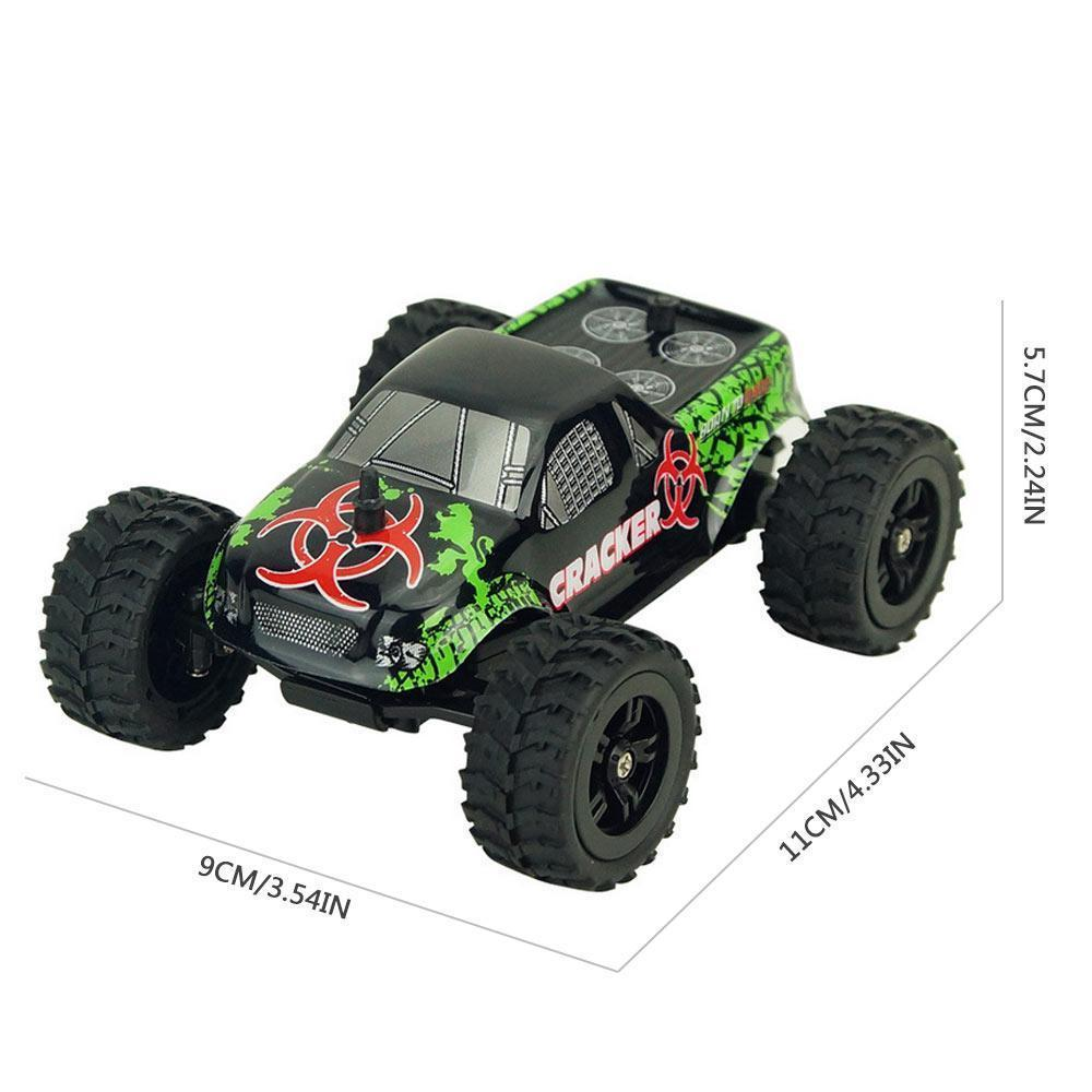 Off Road Vehicle RC Car, Racing Remote Control Car High Speed 20km/h, 1:32  Scale Buggy Hobby Electronic Toy, All Terrain Waterproof Toys Trucks for
