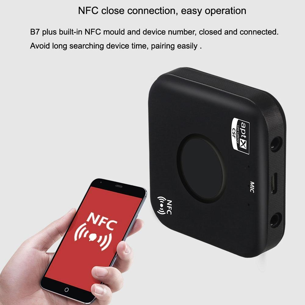 Bluetooth4 2 Audio Receiver APTX NFC Car Speaker Low Latency High Fidelity