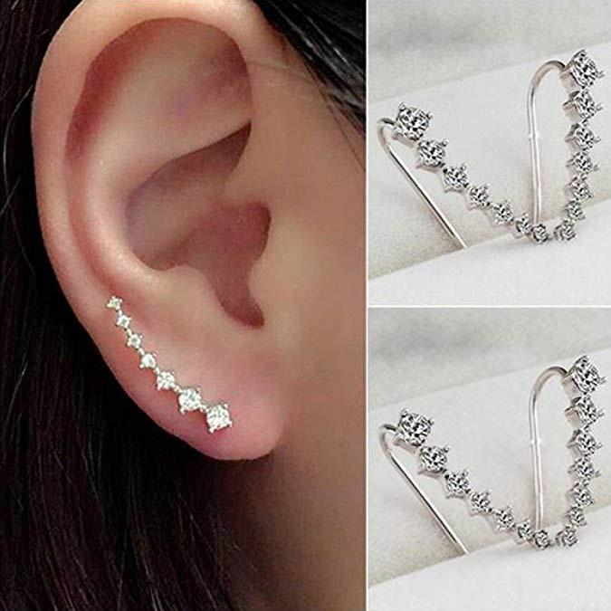 fcaf8aef3c743 Zinc Alloy Stud Earrings for woman
