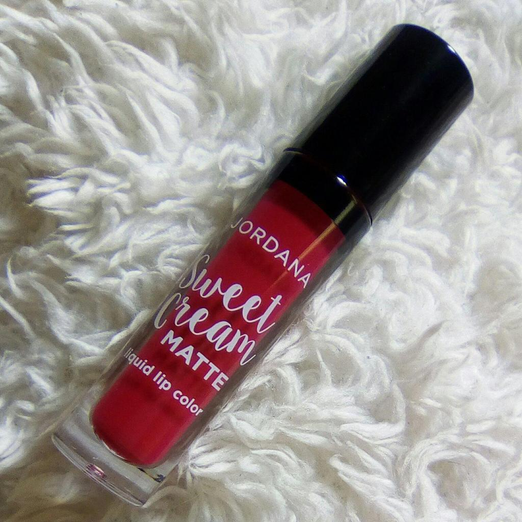 JORDANA Sweet Cream Matt liquid lip Color - 25(Sugerberry Crumble)