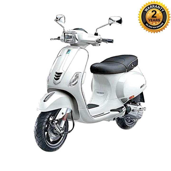SXL125 125cc Scooter - White