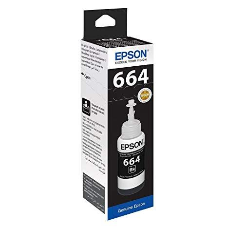 Epson 664 Original Ink (Black)