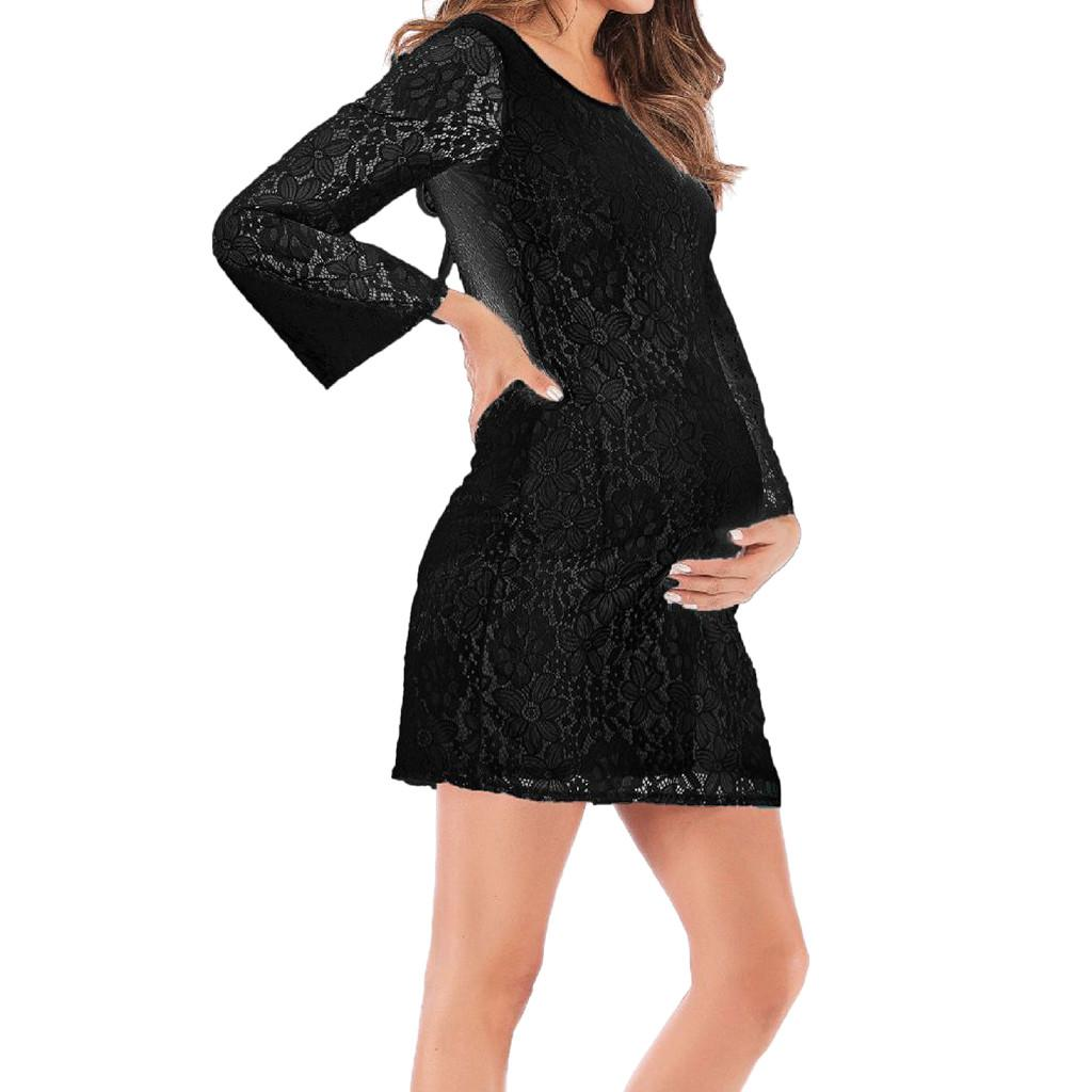 571175888d2e Perfect Meet Cotton Women Lace Long Sleeve Pregnat Maternity Comfortable  Blouse