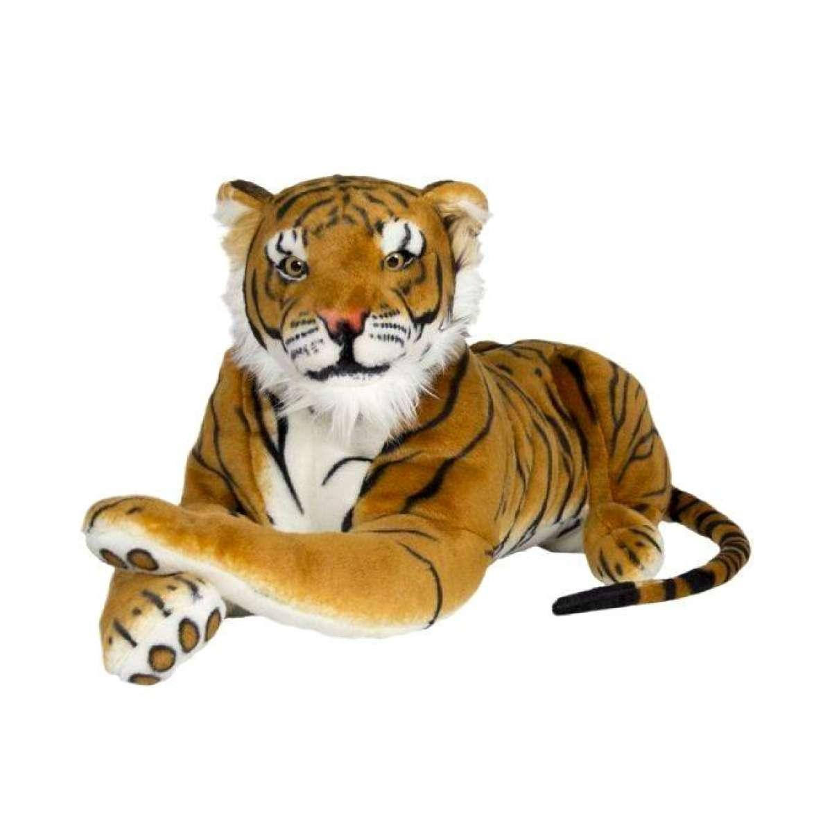 Tiger Stuffed Toy - Multi-color
