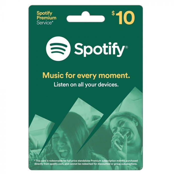Spotify Gift Card 10 USD - US Region