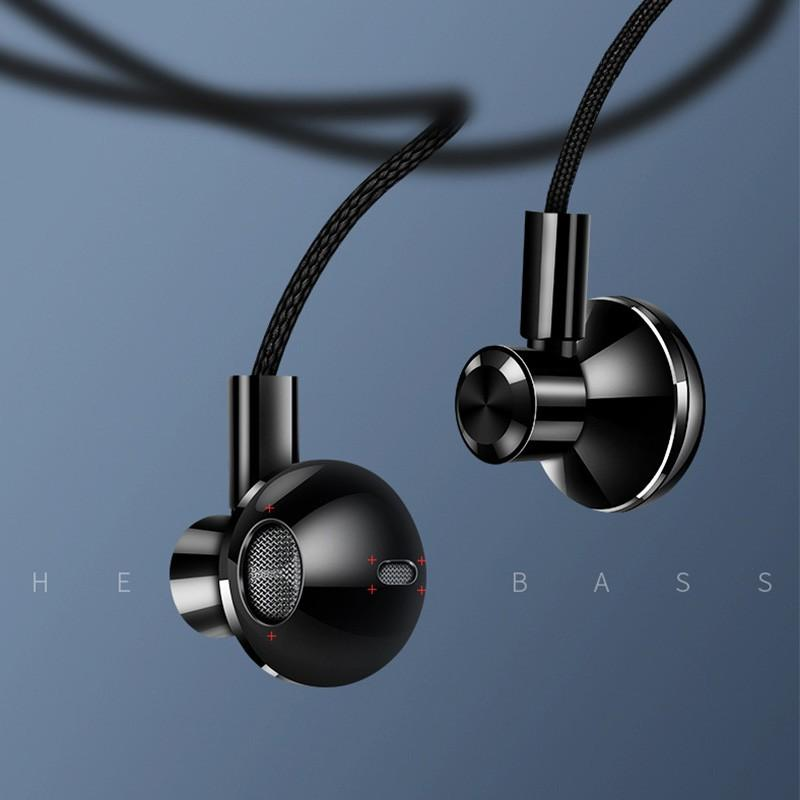 Stereo Earphone In Ear Headset With Micro 3 5mm In Balanced Immersive Bass  Earphones For IPhone For Xiaomi Huawei