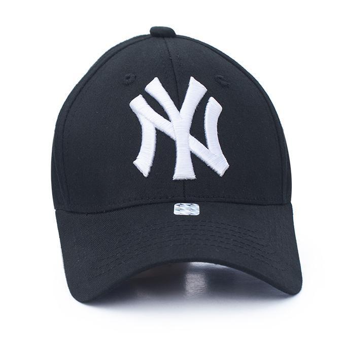 4128587e7 Black Original NY Embroidered Backside Clip Fit Curve Cap for Man