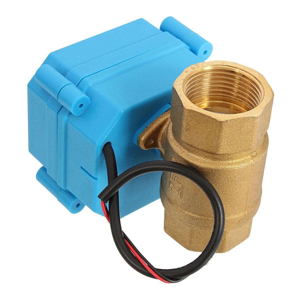 """G3/4"""" DN20 (reduce port) DC12V 2 Way Control Motorized Electrical Ball Valve: Buy Online at Best Prices in Bangladesh 