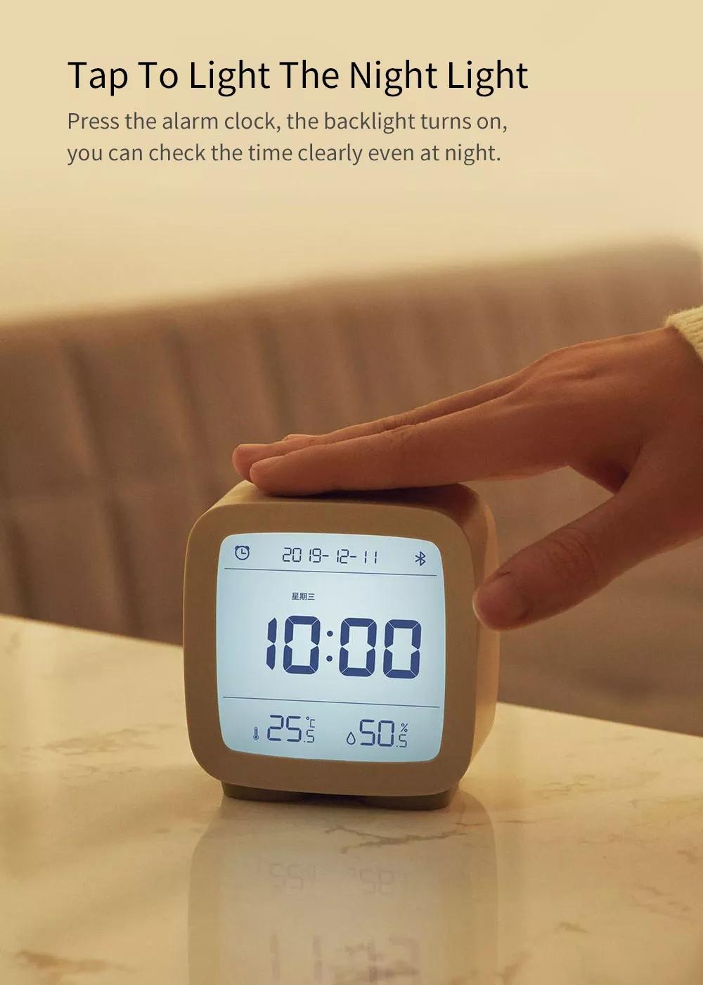 Xiaomi Youpin Qingping Mijia Bluetooth Alarm Clock Alarm Clock Temperature 7