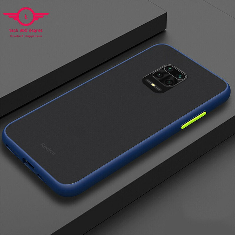 For Xiaomi Redmi Note 9s Note 9 Pro Note 9 Pro Max Premium Quality Full Cover Tpu Shockproof Matt Bumper Phone Case Back Cover Buy Online At Best