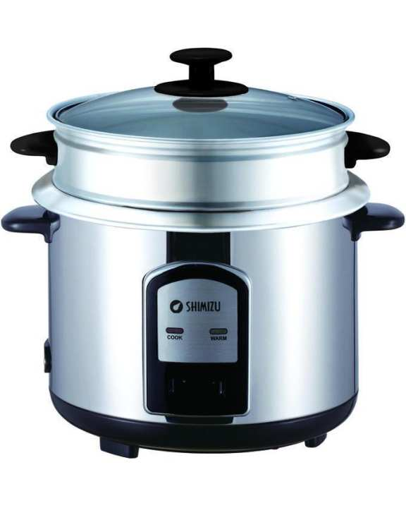SLR-028CPS 2.8L Rice Cooker - Silver