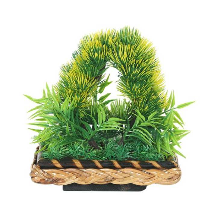 Artificial Plant With Plant Holder