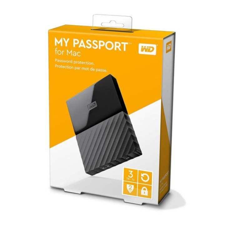 MY PASSPORT-WD 3TB