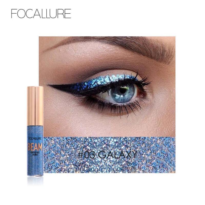 Focallure BEAM Heavy Metallic Glitter Eyeliner #03 Galaxy