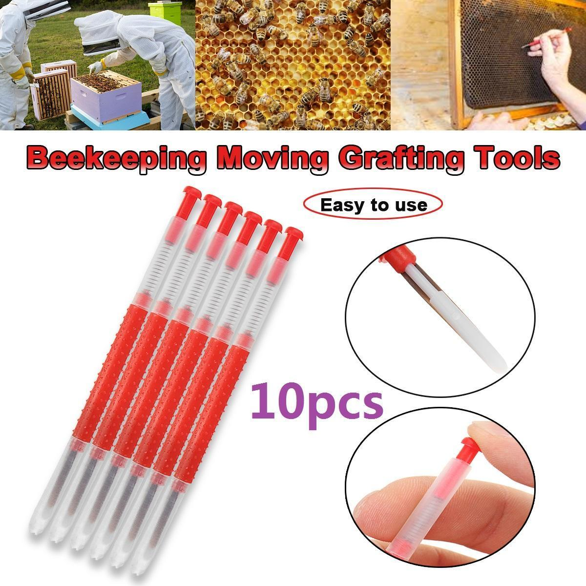 Beekeeping Chinese Queen Rearing Retractable End Grafting Tools x 2