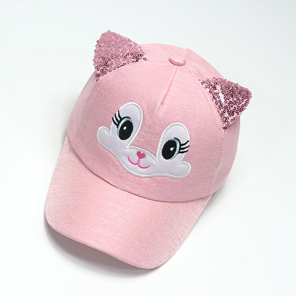 4956bcd51 Baby Boy Girls Hats Soft Bunny Cartoon Sunhat Eaves Baseball Cap Sun Hat  Beret High Quality