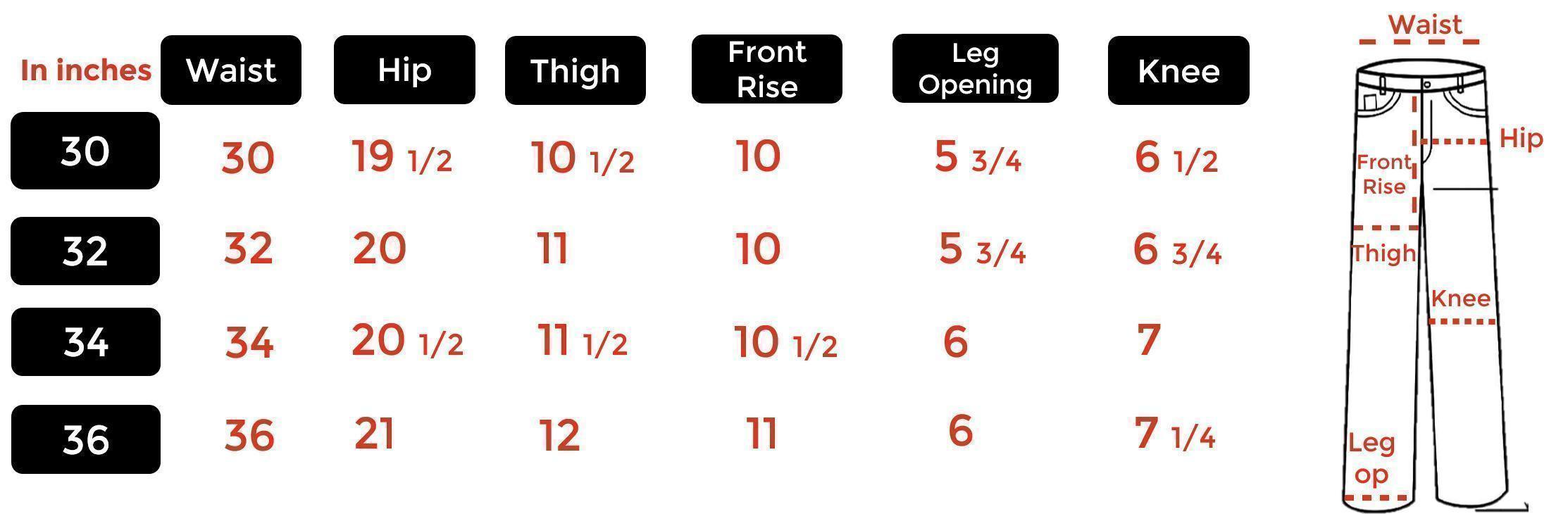 Jeans Men Slim sizing chart.png