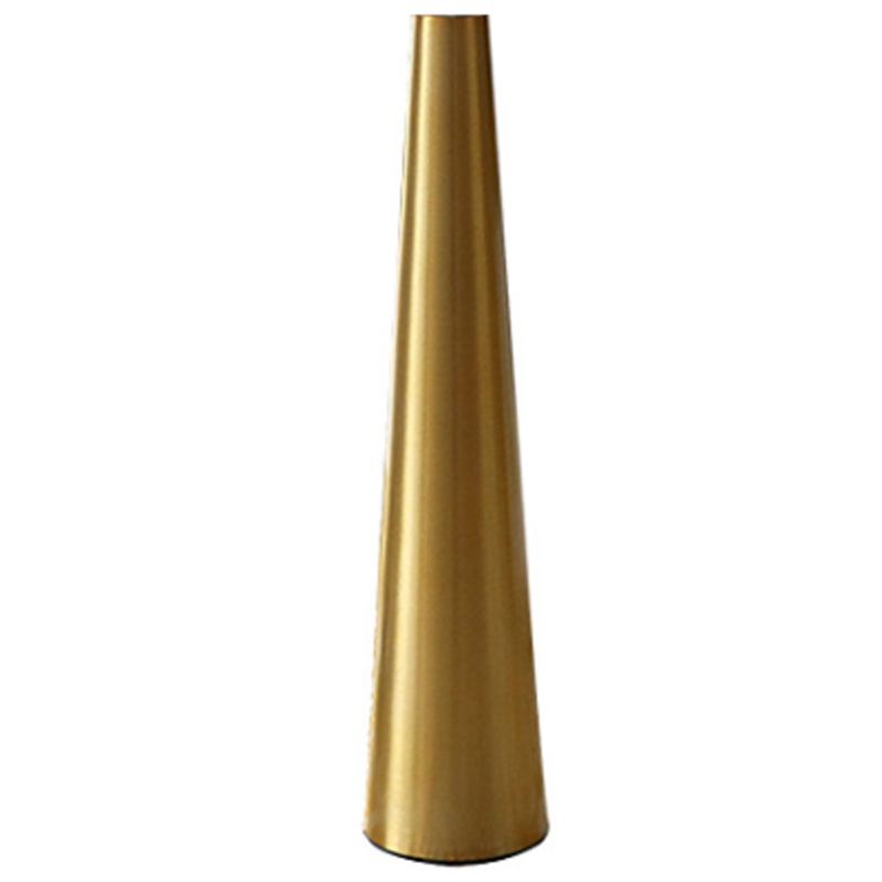 Aurum Metal Vase Small Flower Vase Cone Vases For Wedding Table Center Decoration Home Decoration Buy Online At Best Prices In Bangladesh Daraz Com Bd