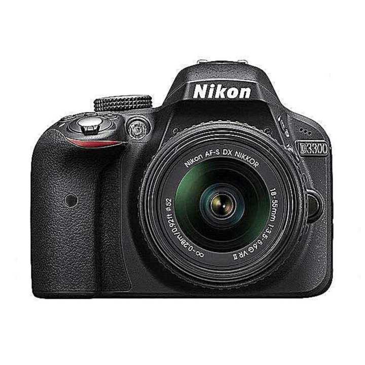 D3300 24.2 MP CMOS Digital SLR with Auto Focus-S DX NIKKOR 18-55mm f/3.5-5.6G VR II Zoom Lens