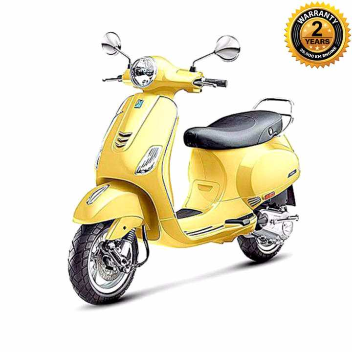 VXL125 125cc Scooter - Yellow