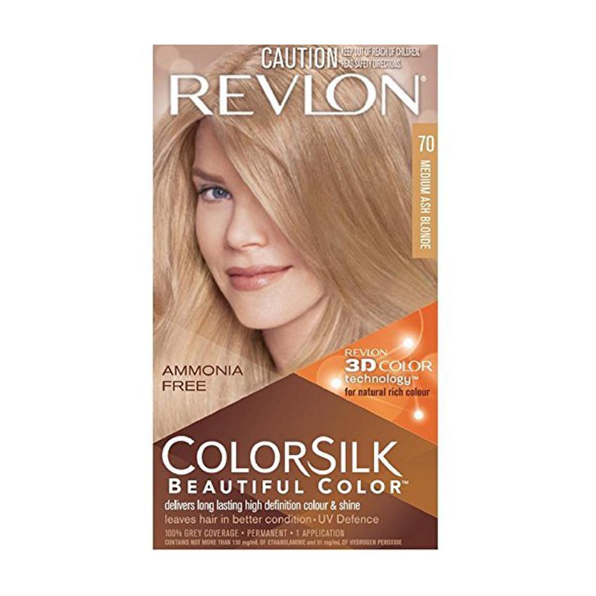Revlon 3D Colorsilk Beautiful Hair Color - Shade 70 - 120ml