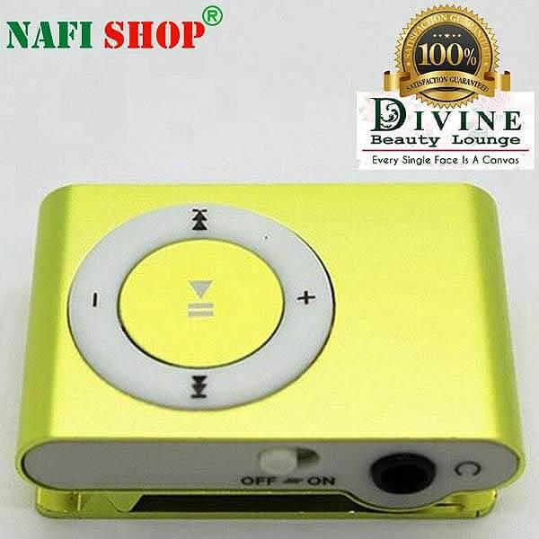 Metal Body Mini Clip MP3 Player Parrot Green High Quality With Stereo  Earphone In-Ear Headphone/Headset