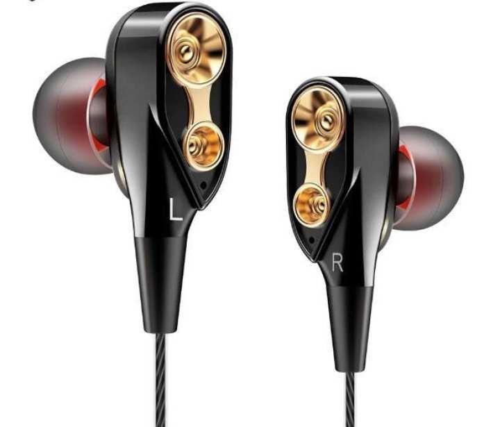QKZ CK8 Dual Driver Earphone Stereo Bass Sport headset