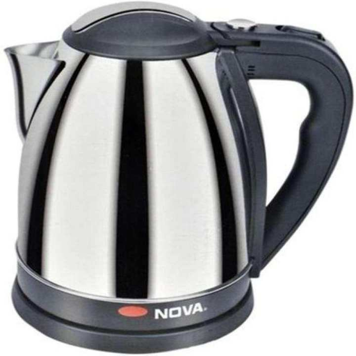 1.5L Electric Kettle - Black and Silver
