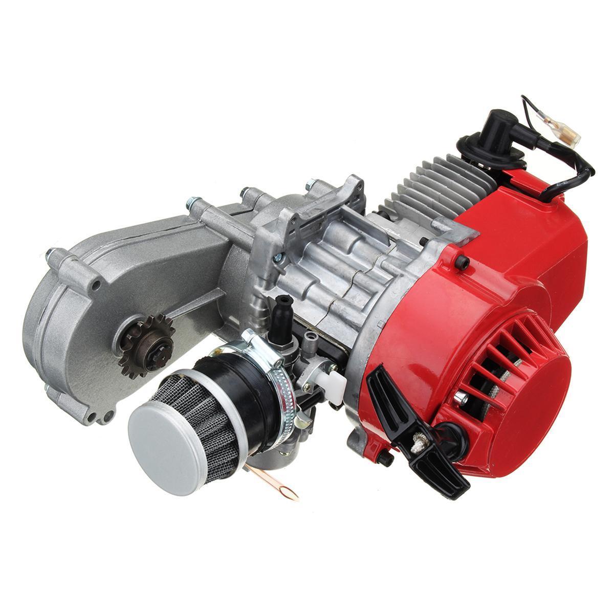49cc MINIMOTO MINI MOTO DIRT BIKE QUAD ATV ENGINE CARBURETTOR PULLSTART COIL