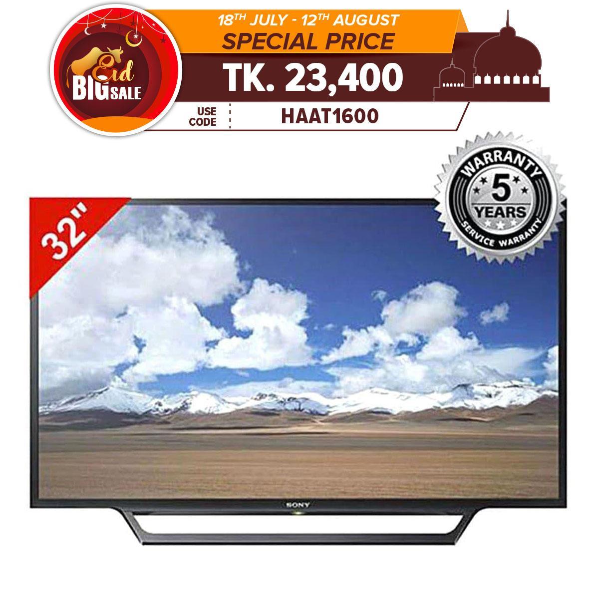 LED Internet TV 32'' KDL-W600D/W602D - Black