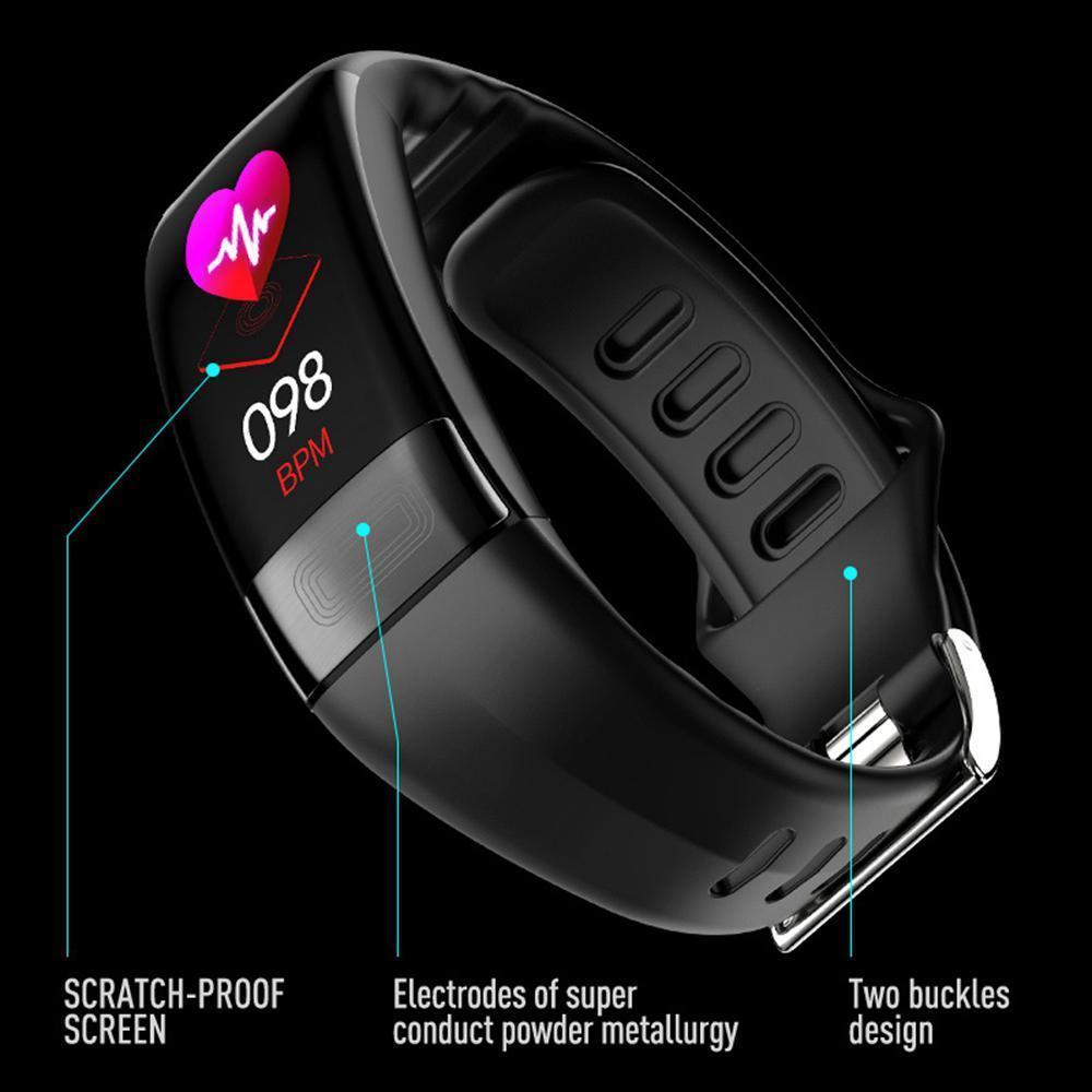 P11 Fitness Tracker Color Screen Smart Watch Activity Tracking Waterproof  IP67 Sports Bracelet for Women Men