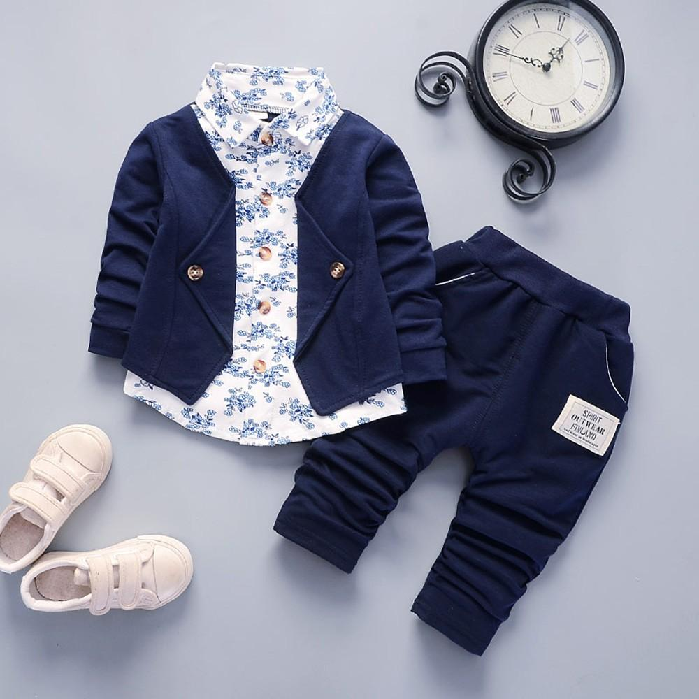 amazingdeal Baby Toddler Boy Wedding Christening Tuxedo Formal Party Suits Outfits