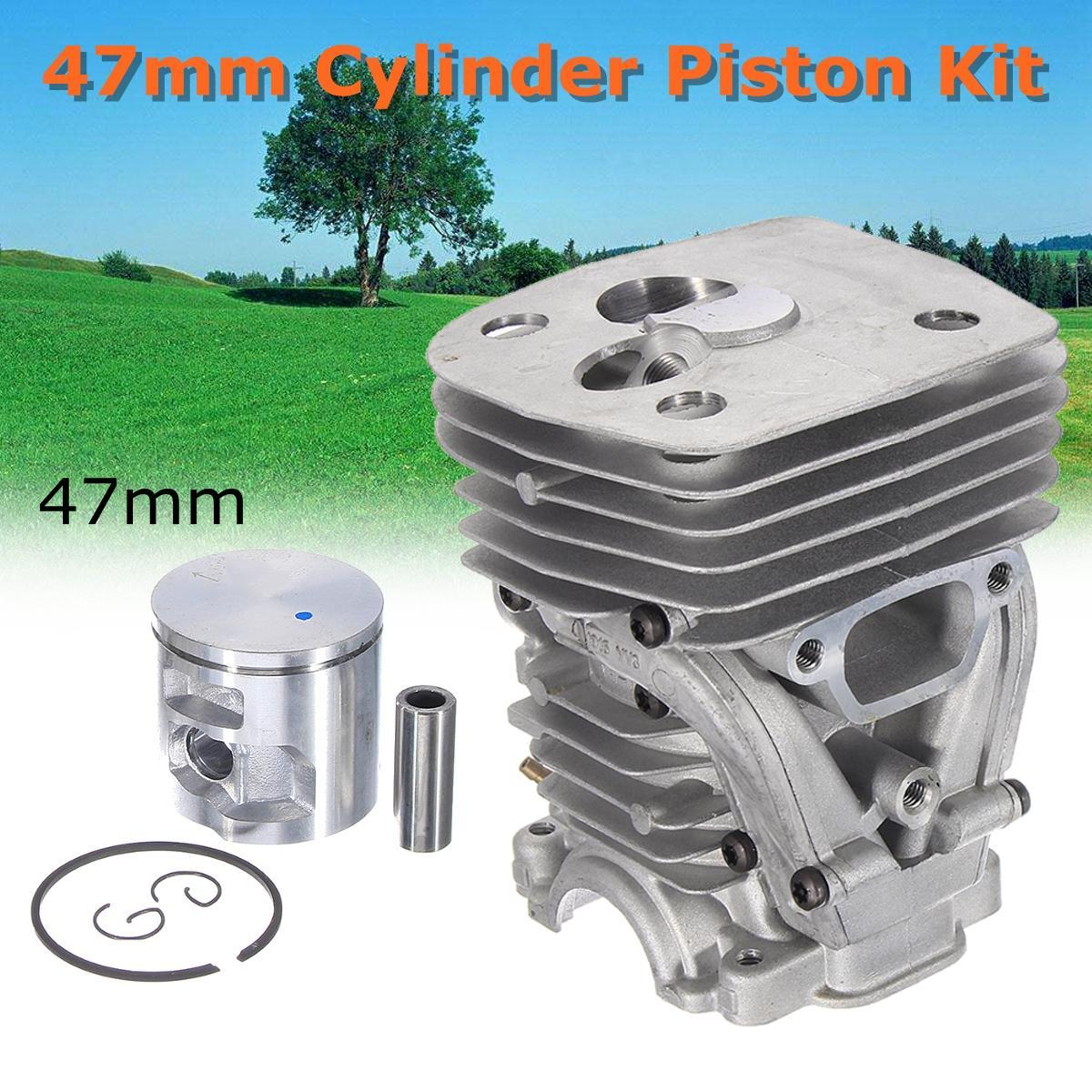 47MM Cylinder Piston Ring Kit Chainsaw For Husqvarna 455 Rancher 455E 460