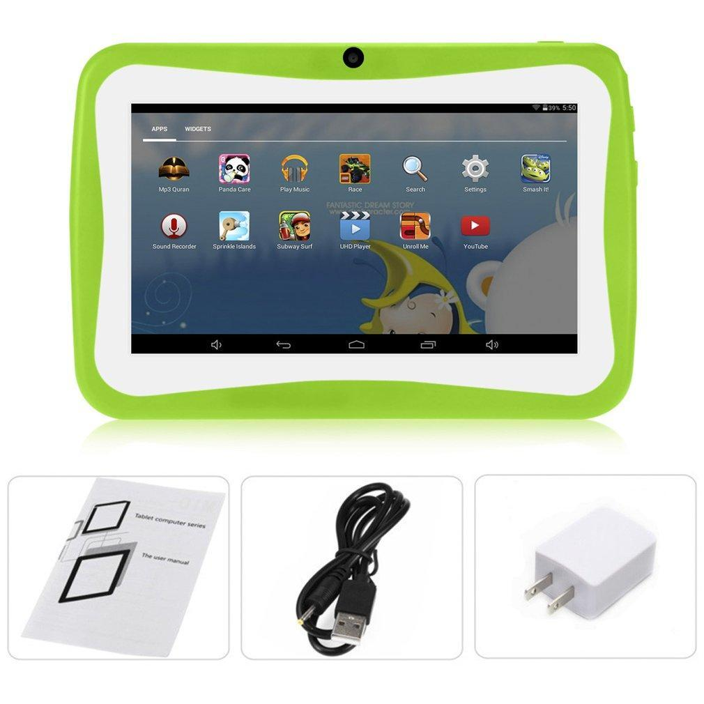 7 Kids Tablet PC 1 5GHZ Quad Core 8GB WIFI Android 1024x600 Screen