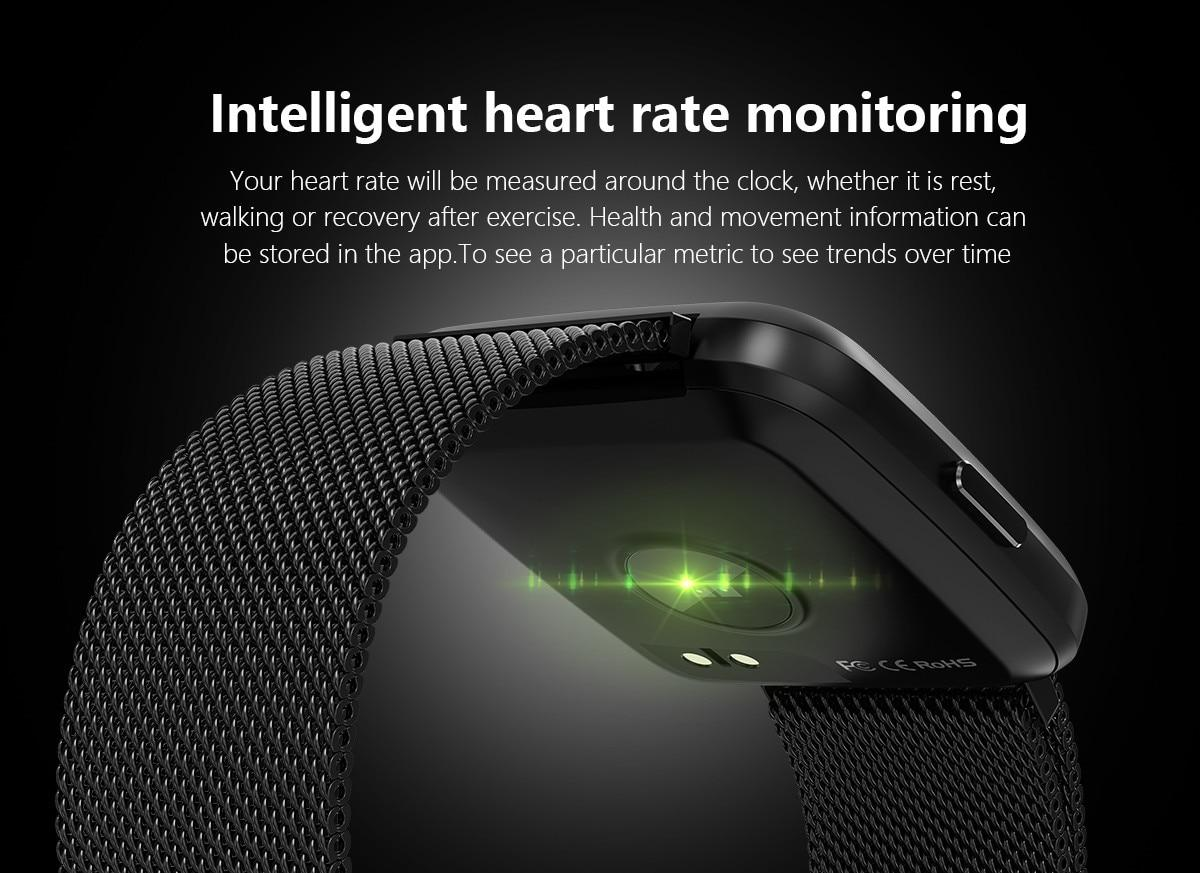 Genuine Y7 Smart Watch IP67 Waterproof Fitness Tracker