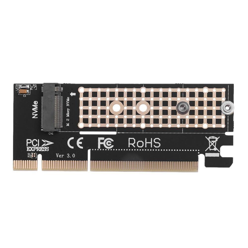 PCI-E M 2 NVMe SSD to PCI-E 3 0 16x M Key Port Adapter Expansion Card