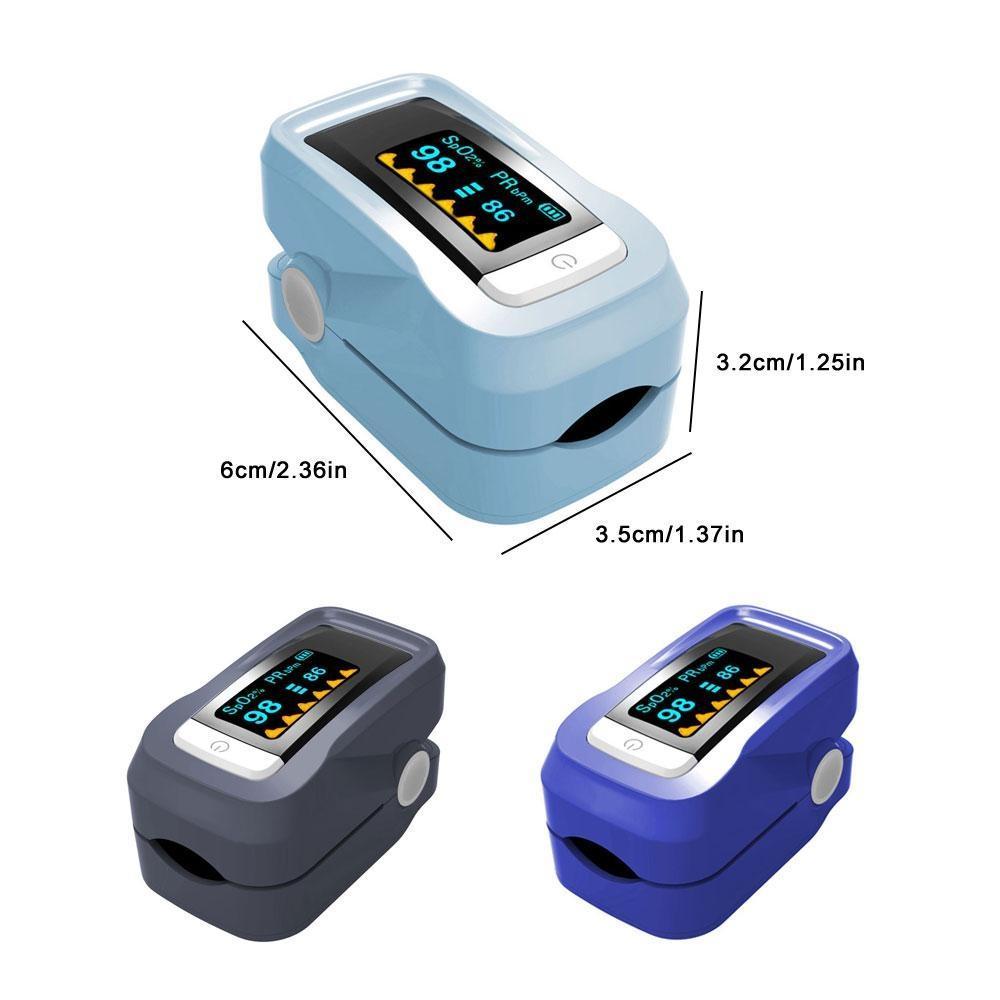 Fingertip Finger Blood Oximeter Oxygen Pulse Heart Rate Monitor Oximeter