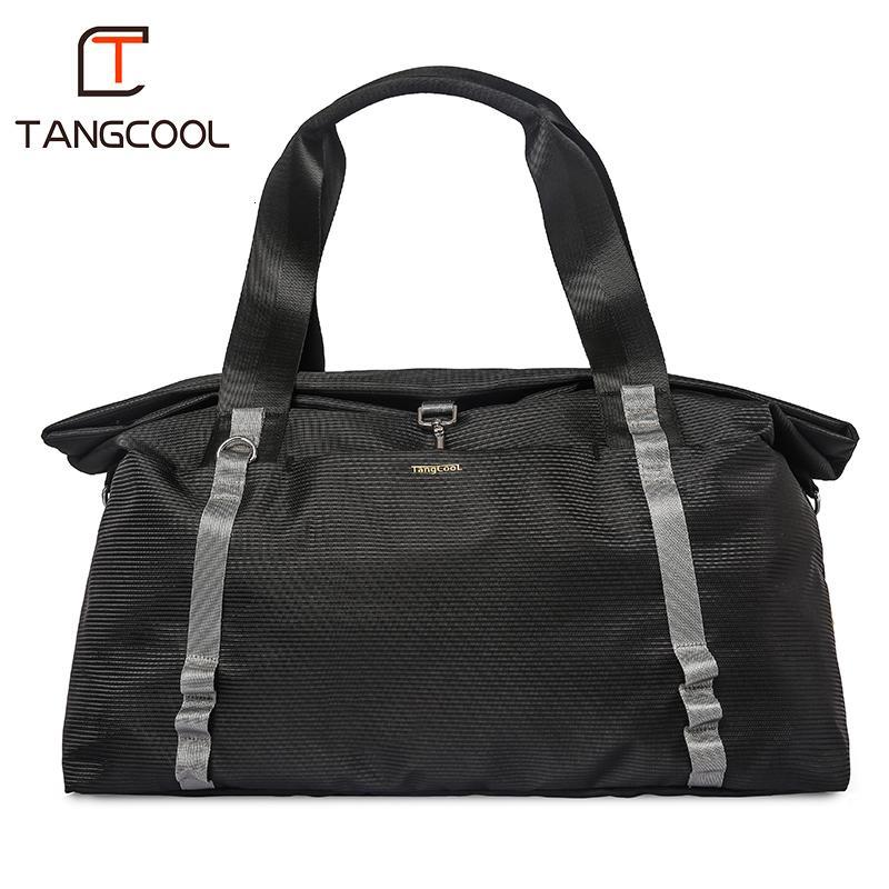 f489180e custom print luggage man brand carry waterproof duffle travelling hand bag