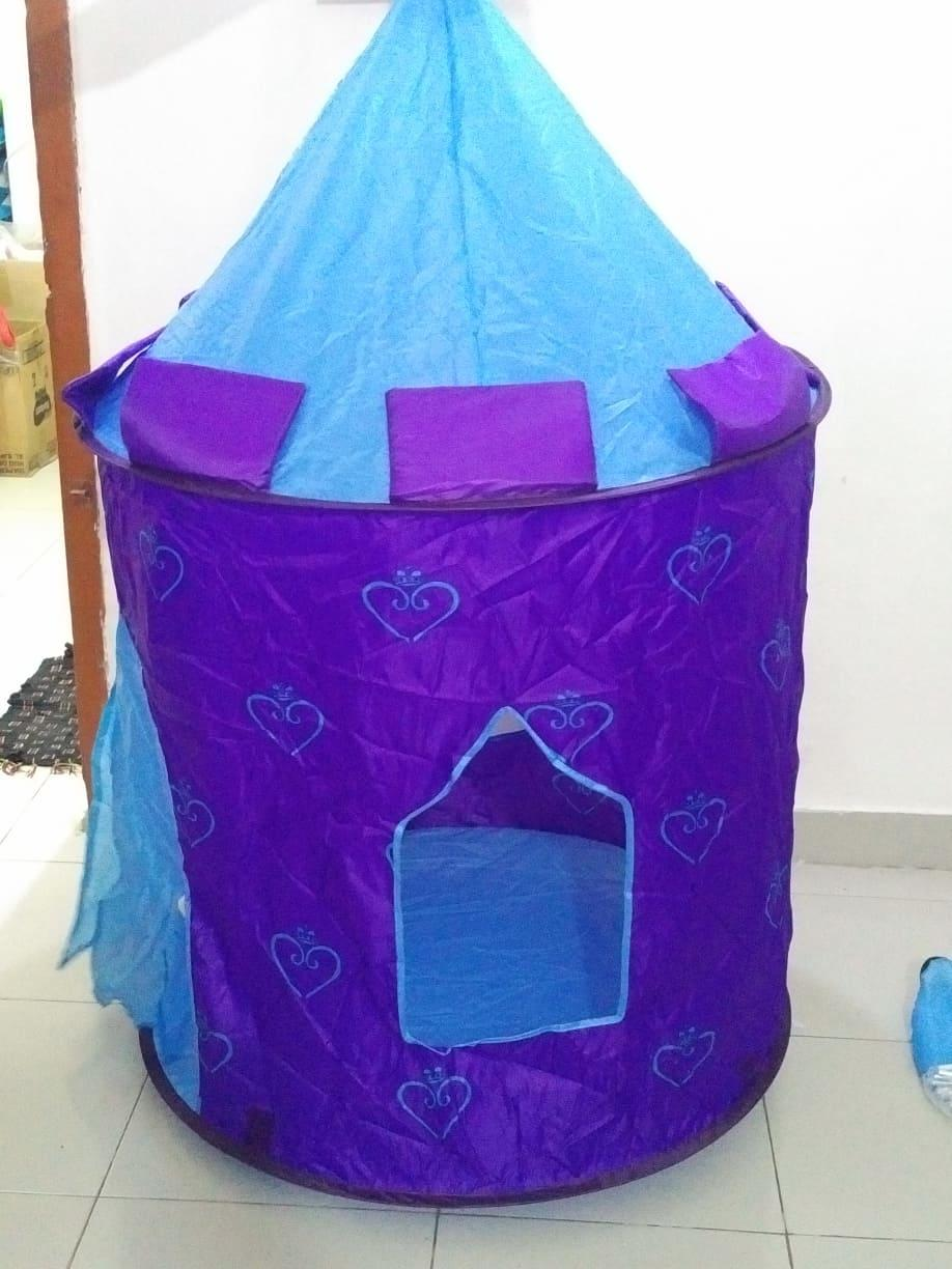 Baby Play Tent House - Pink and Violet & Play Tents u0026 Tunnels - Buy Play Tents u0026 Tunnels at Best Price in ...